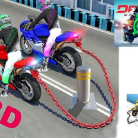 Chained Bike Racing 3D