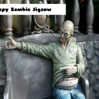 Creepy Zombie Jigsaw