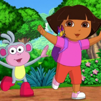 Dora The Explorer Coloring Online
