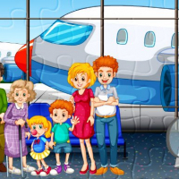 Family Travelling Jigsaw Online