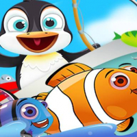 Fish Games For Kids | Trawling Penguin Games Online