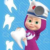 Masha Happy Dentist Online