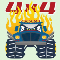 Monster Trucks Coloring Pages