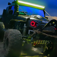 Offroad Jeep Driving Puzzle Online